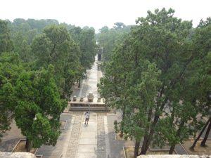Dingling Mausoleum of Emperor Zhu Yijun