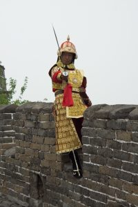 Mutianyu Great Wall of China Soldier